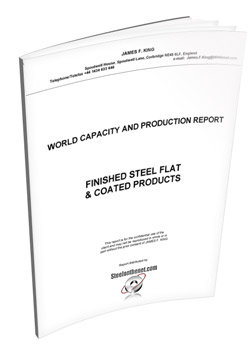 James King - finished steel flat product capacity report