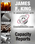 James King steel plant capacity data