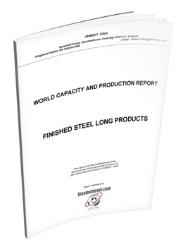 James King - finished steel long product capacity report