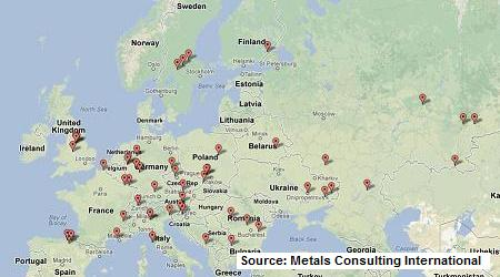 European SBQ plants